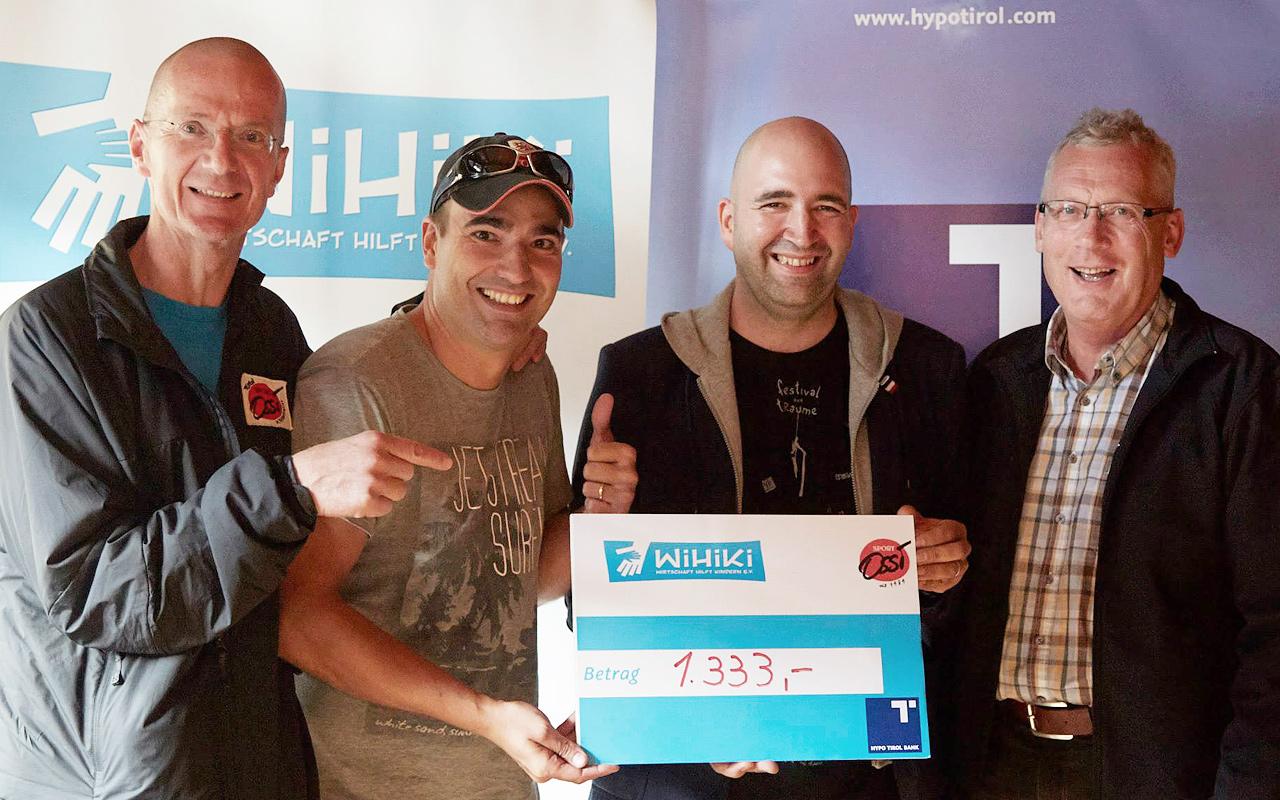 Firmen Wildwasser Rennen 2014 - Danke