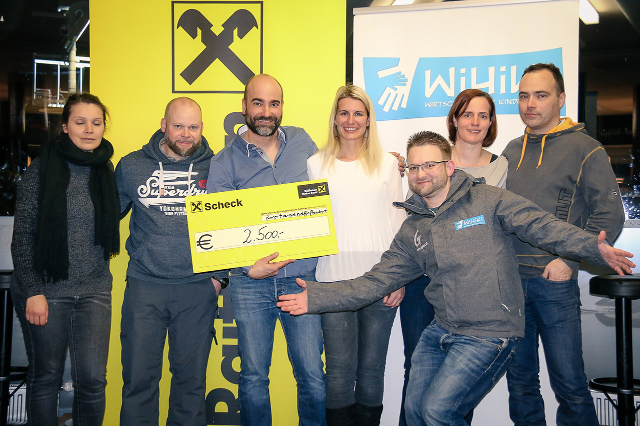 Firmen Wok Rennen 2017 - Danke