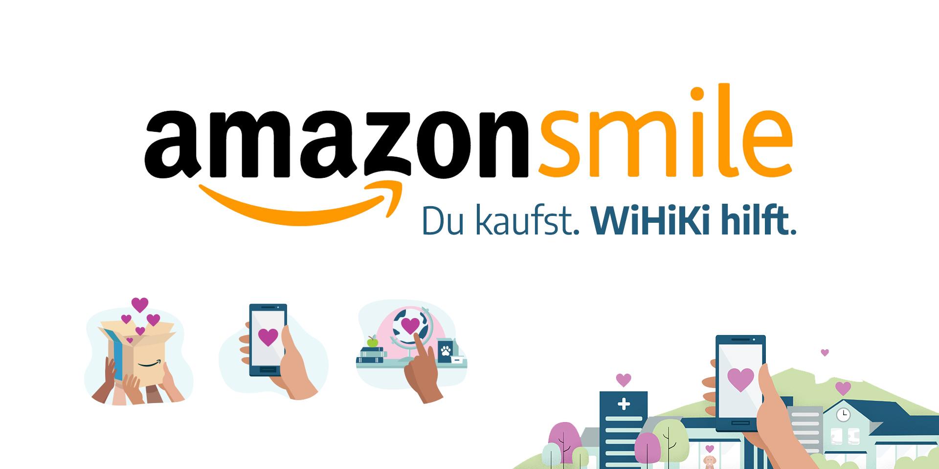Wir sind bei Amazon Smile :-)